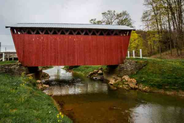 How to get to Trusal Covered Bridge in Indiana County, PA