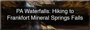 Frankfort Mineral Springs Falls