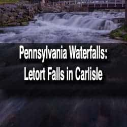 Letort Falls in Carlisle