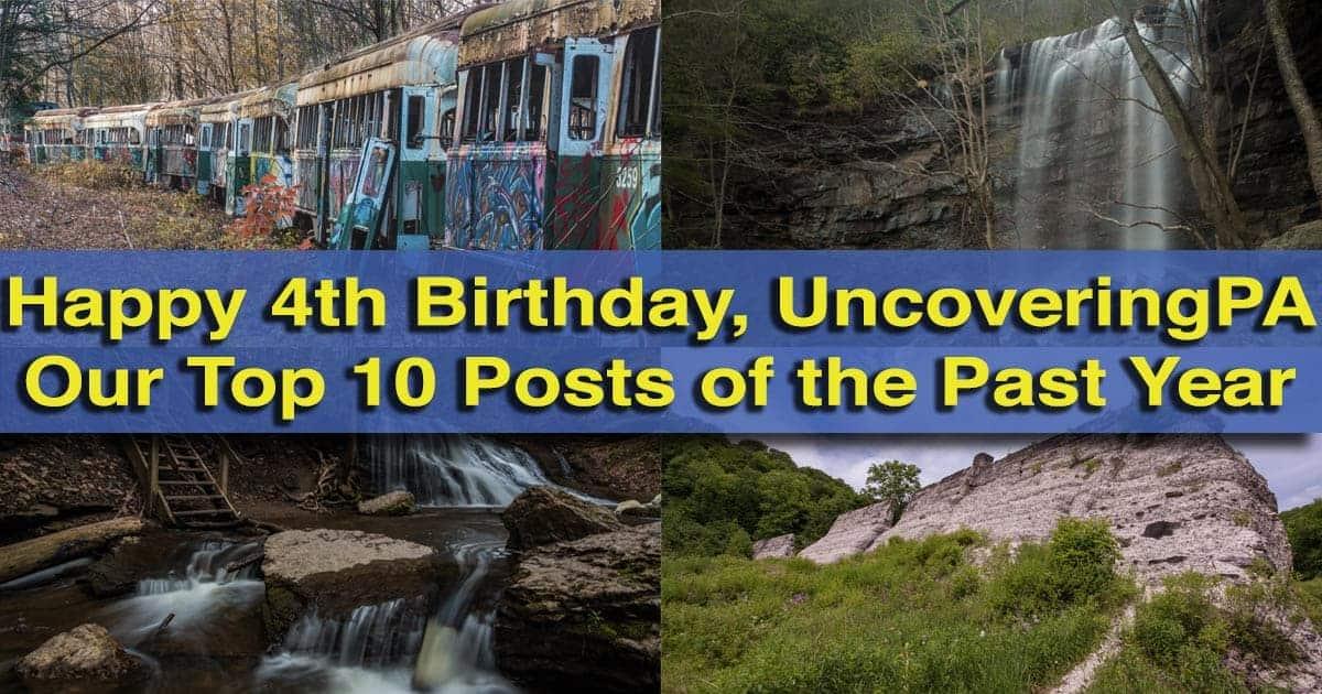 UncoveringPA's Forth Anniversary