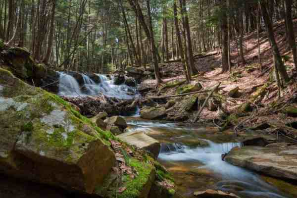 How to get to Rapp Run Falls in Clarion, Pennsylvania