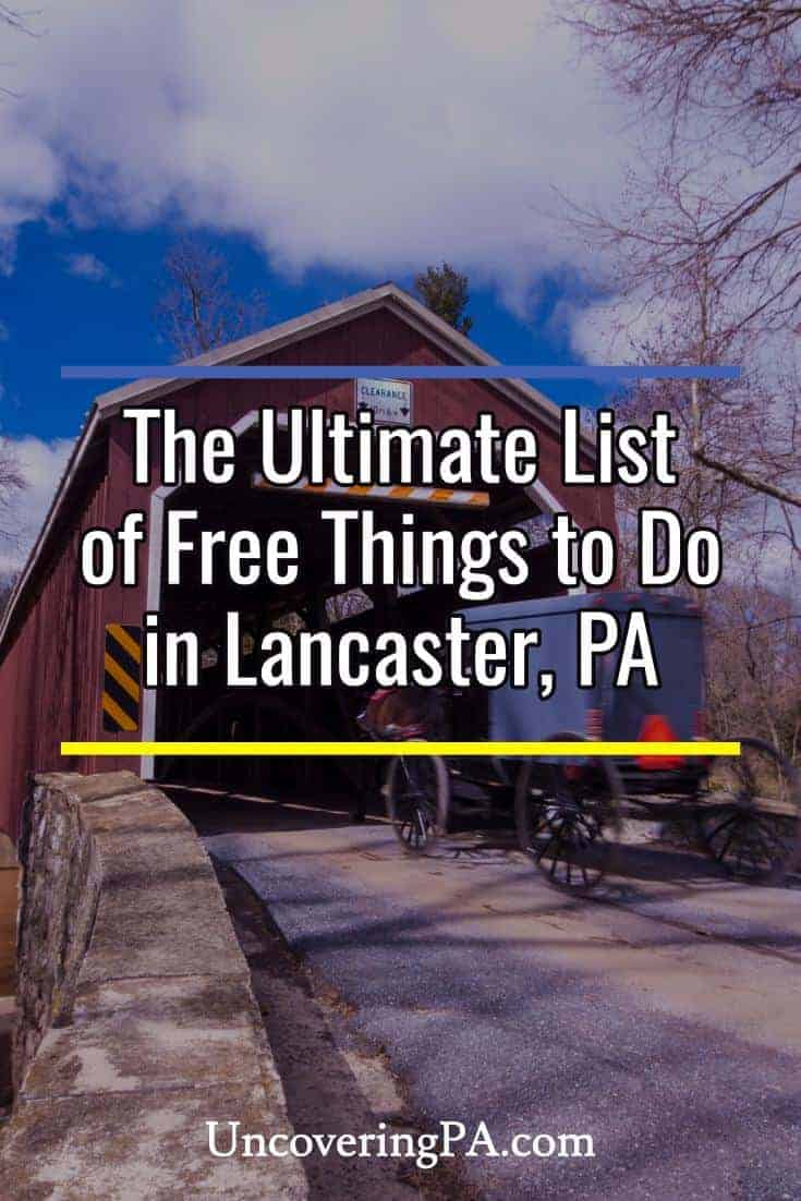 40 free things to do in lancaster pa