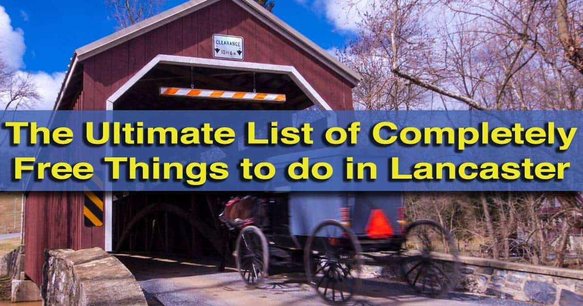 List of Free Things to do in Lancaster, PA
