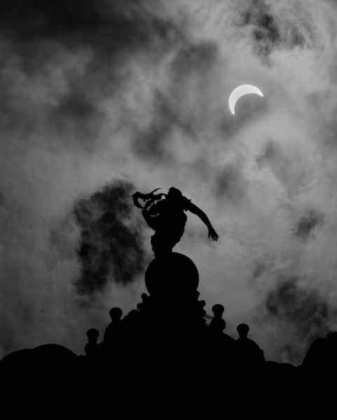 Top Pennsylvania Photos of 2017: Solar Eclipse in Harrisburg