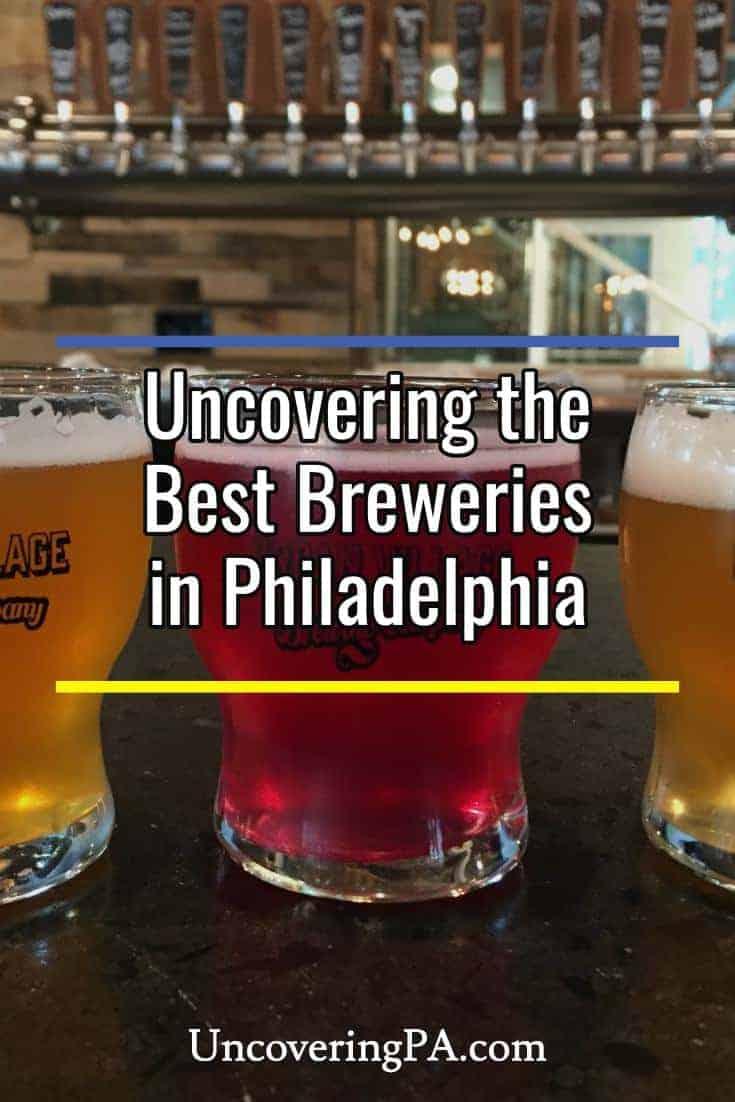 Sampling the best breweries in Philadelphia, Pennsylvania #beer
