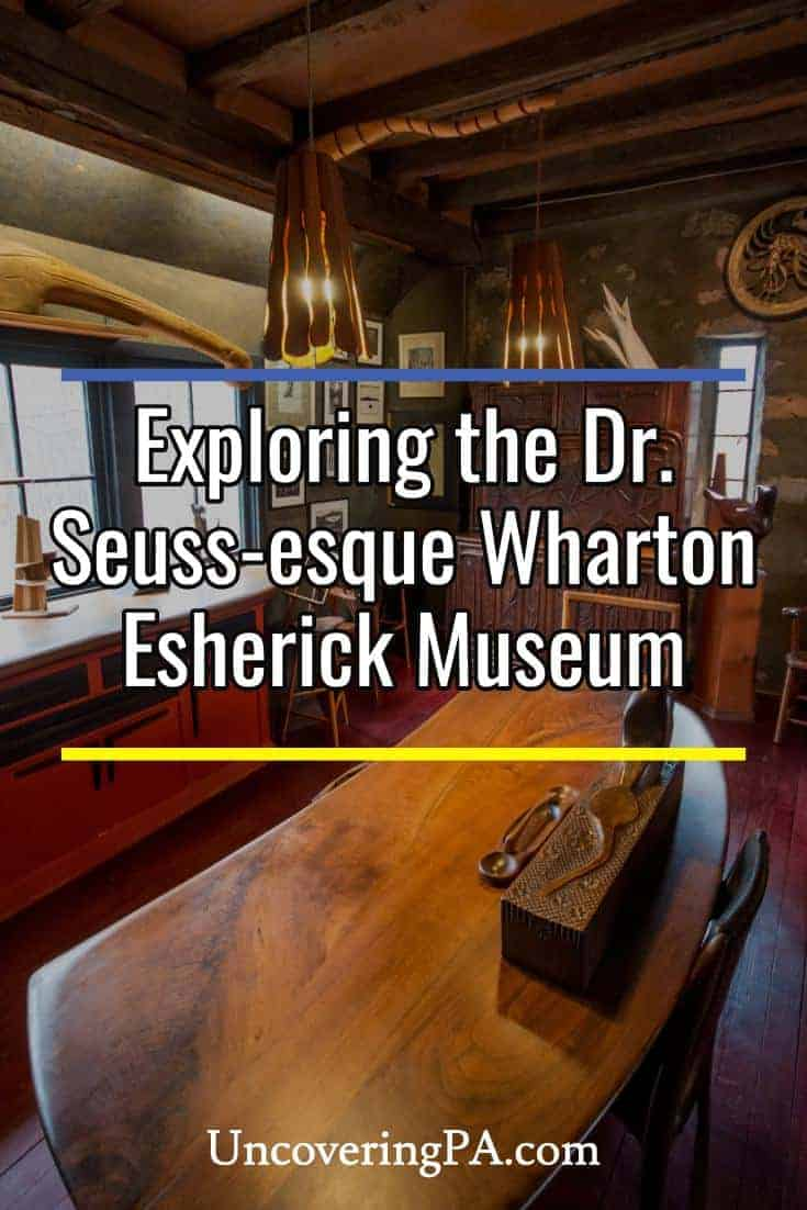 Touring the Dr. Seuss-esque Wharton Esherick Museum near Philadelphia, Pennsylvania