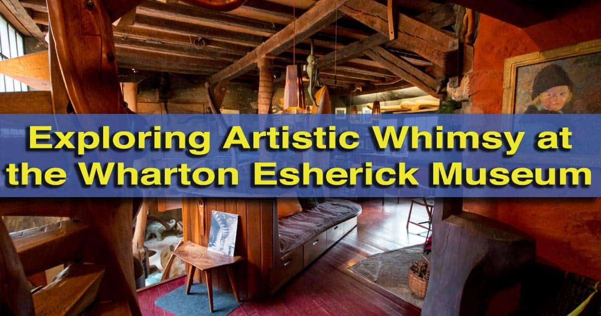 Touring the Wharton Esherick Museum in Malvern, Pennsylvania