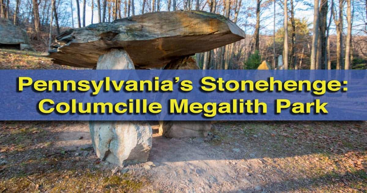 Hiking at Columcille Megalith Park