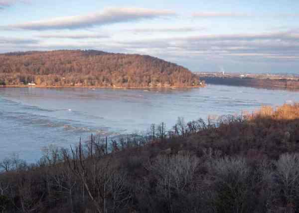 Breezyview Overlook near Columbia, Pennsylvania