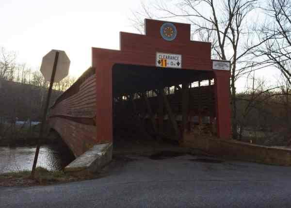 Dreibelbis Covered Bridge in Berks County, PA