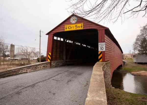 Greismer's Covered Bridge near Reading, Pennsylvania