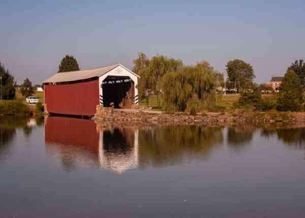 Anderson Farm Covered Bridge in Adams County, PA