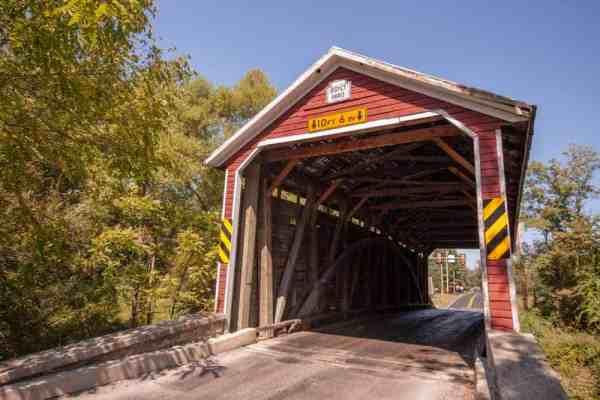 Jacks Covered Bridge near Gettysburg, Pennsylvania