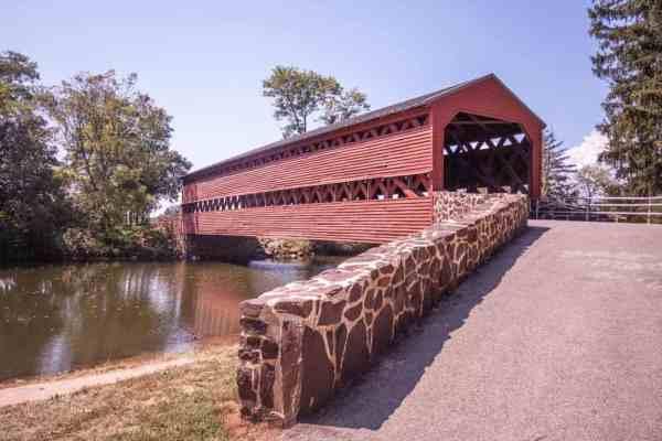 Sachs Covered Bridge in Adams County, Pennsylvania