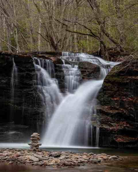 Twin Falls in State Game Lands 13