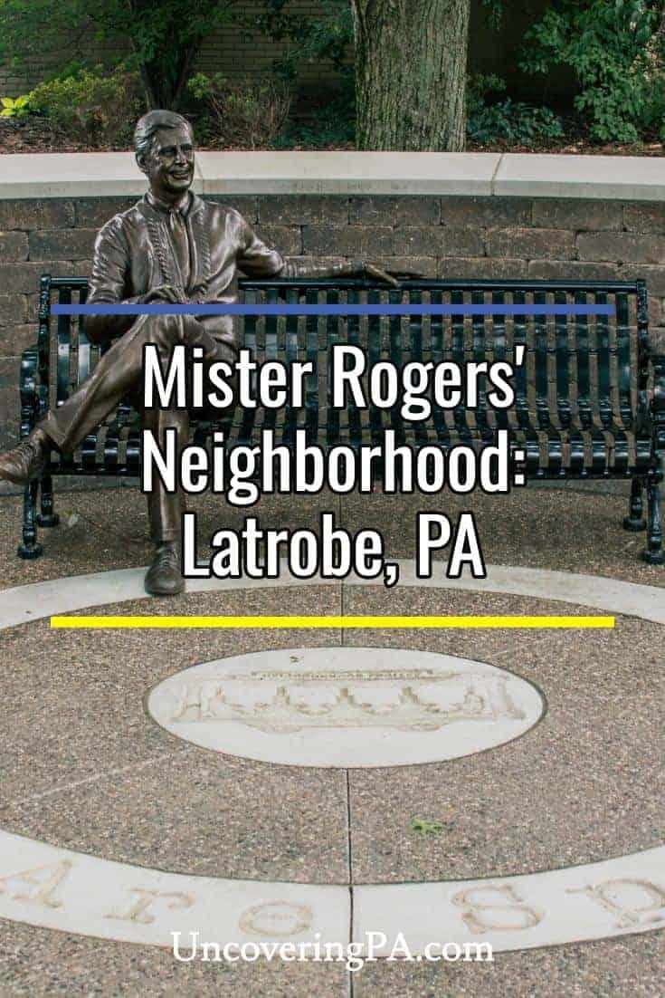 Visiting Mister Rogers' Neighborhood in Latrobe, Pennsylvania