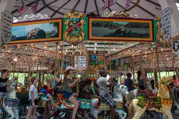 Grand Carousel at Knoebels in PA