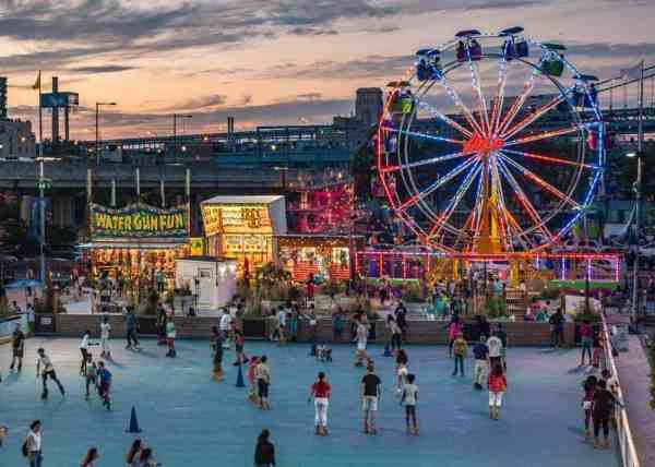 SummerFest is a great family-friendly activity in Philadelphia, Pennsylvania