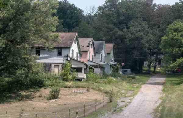 Homes in Yellow Dog Village near Kittanning, Pennsylvania