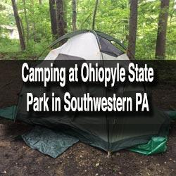 Camping at Ohiopyle