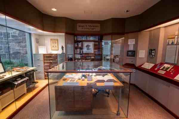 Inside the Michener Museum in PA