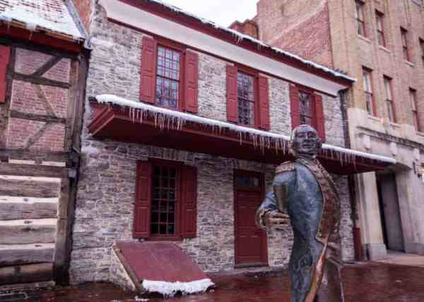 Statue of Lafayette in York, Pennsylvania