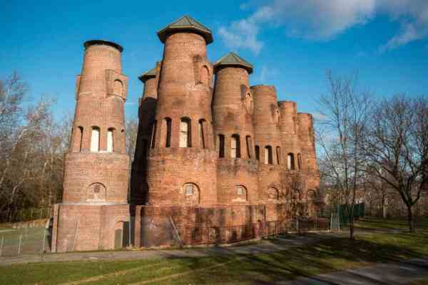 The Coplay Kilns in the Lehigh Valley of Pennsylvania