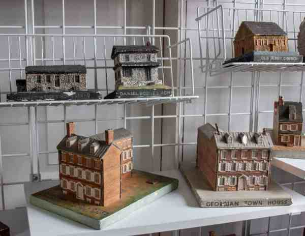 Architectural models at the History Center on Main in Tioga County, Pennsylvania