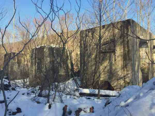 Ruins in state game lands in Dauphin County, PA