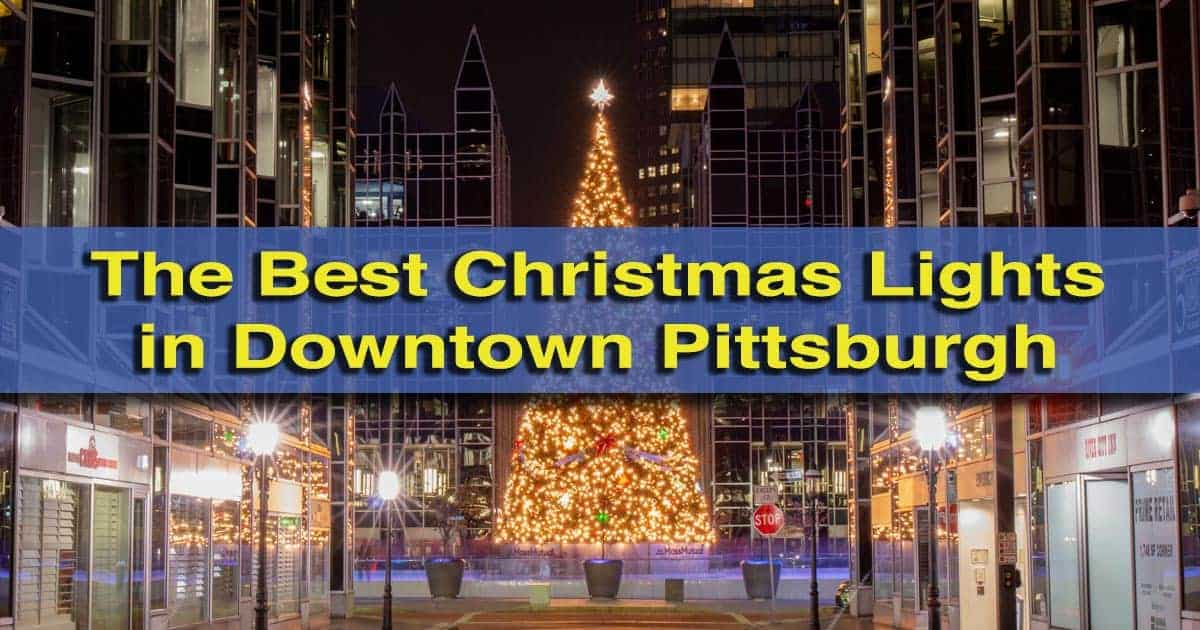 The best Christmas lights in Pittsburgh, Pennsylvania