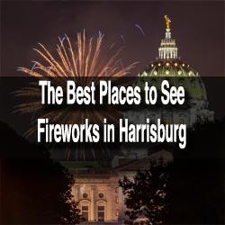 Fireworks in Harrisburg