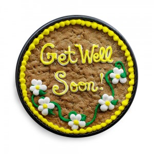 Uncover-Ostomy Get Well Soon Cookie