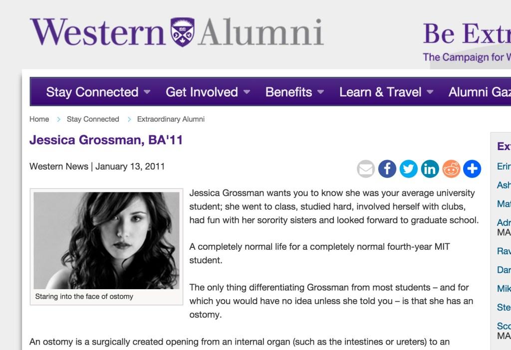 Uncover Ostomy Western Alumni 01-13-2011