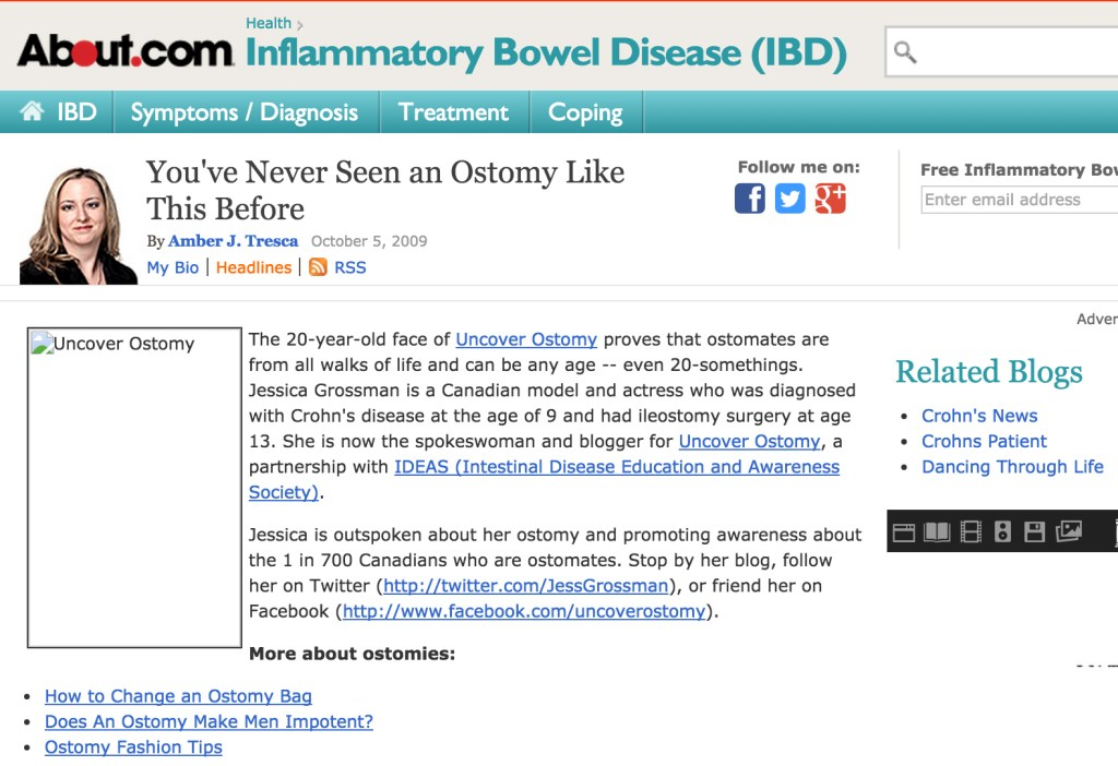 Uncover Ostomy About Dot Com 10-05-2009