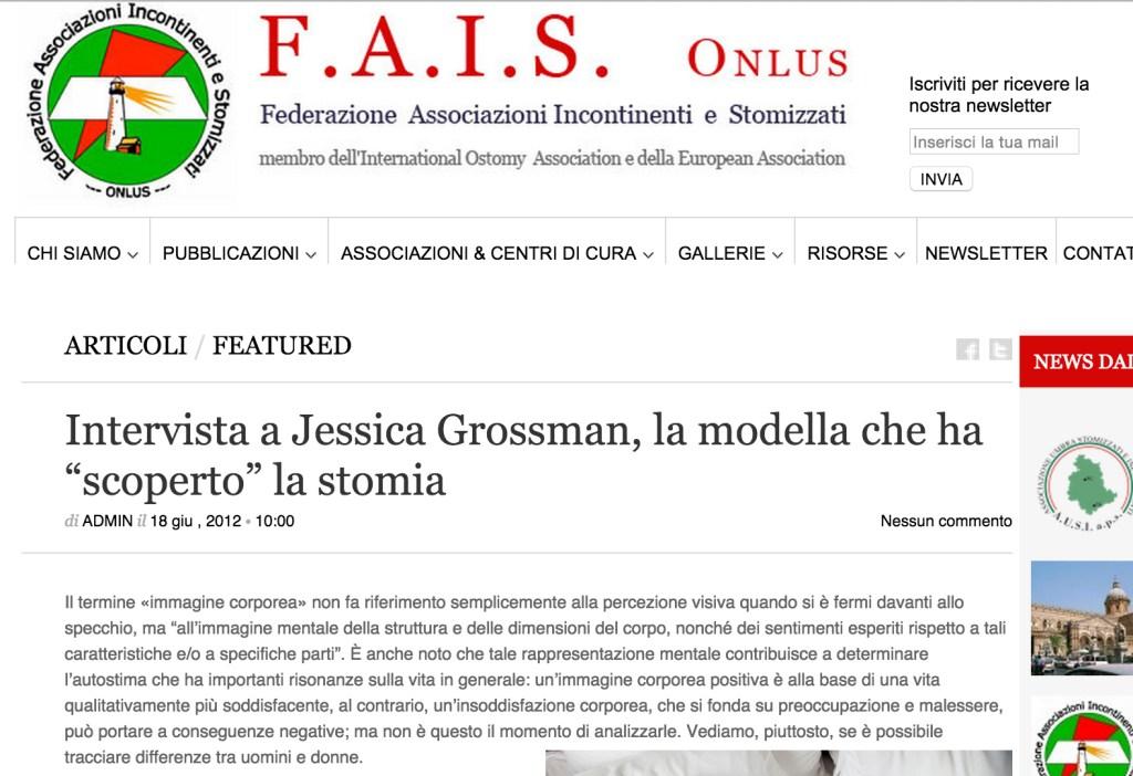 Uncover Ostomy FAIS 06-18-2012