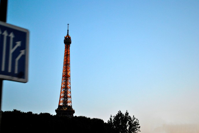 Eiffel Tower Dusk