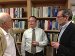 (L-R) Buck Goldstein, Robbie Dircks, David Harrison (photo by William Ferris)