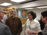 (L-R) Dan Patterson, Bob Cantwell, Elaine Maisner, Marcie Cohen Ferris (photo by William Ferris)