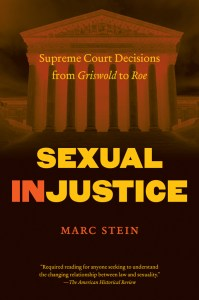 cover photo for sexual injustice by marc stein