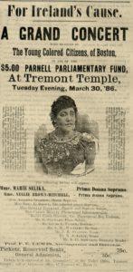 """""""For Ireland's Cause,"""" Boston Advocate, March 13, 1886. (Courtesy of Boston Public Library)"""
