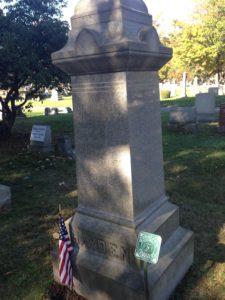 Hayden's Gravestone