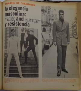 In the first issues of Por Qué? culture and fashion sections dominated.