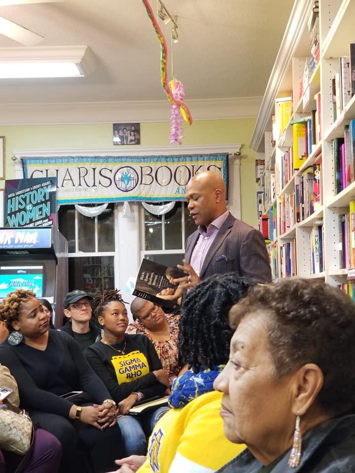 E. Patrick Johnson, Book Launch Event for Black.Queer.Southern.Women at Charis Books, Atlanta, GA