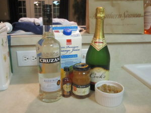 Merry Mabel coctail ingredients