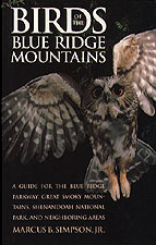 Birds of the Blue Ridge, by Marcus B. Simpson Jr.