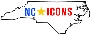 North Carolina icons