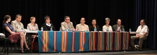 Osage Nation panel discussion led by Jean Dennison, 2012