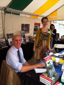 David Cecelski and Beth, Southern Festival of Books 2012