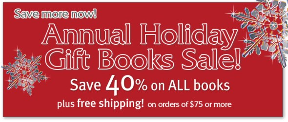UNC Press Holiday Sale 2012 - 40% off