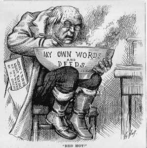 Thomas Nast - What I Know about Eating My Own Words